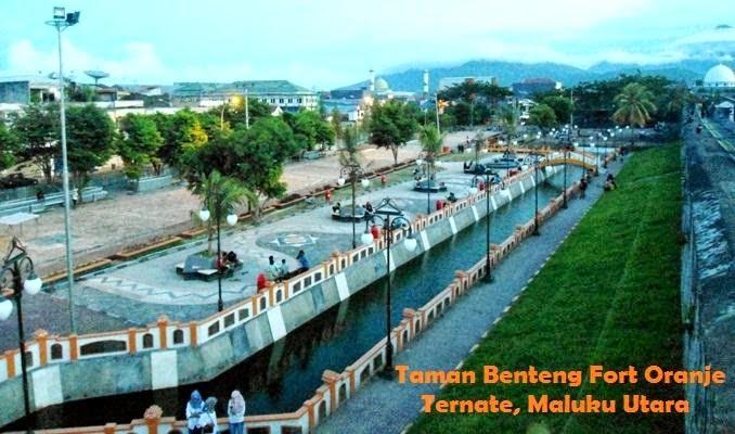 Wajah Benteng Fort Oranje Ternate Jadi Idola Masyarakat Gadis Kota