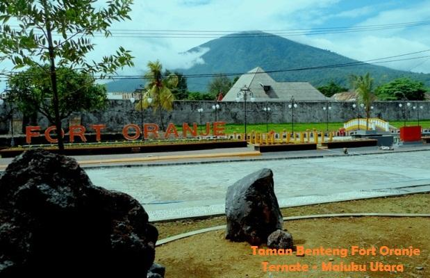 Benteng Fort Oranje Bersalin Rupa Jadi Idola Masyarakat Ternate Kota