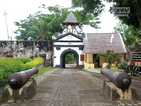 Benteng Oranje Saksi Sejarah Youtube Kota Ternate