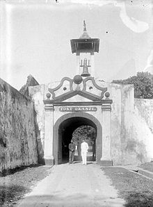 Fort Oranje Ternate Wikipedia Benteng Kota