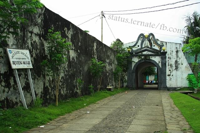 Teras Nasional Bawa Kemana Potensi Wisata Kota Ternate Benteng Oranje