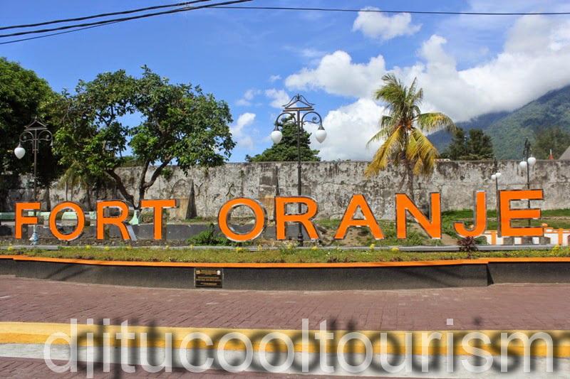 Travel History Fort Oranje Ternate Maluku Utara Collection Benteng Kota