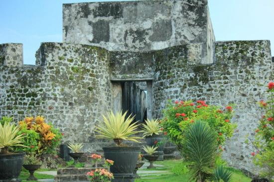 Benteng Tolukko Edit Picture Fort Ternate Kota