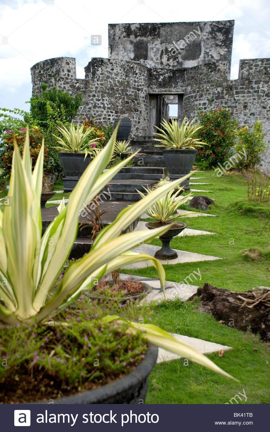 Benteng Tolukko Indonesia Kota Ternate Stock Photo Royalty Free Image