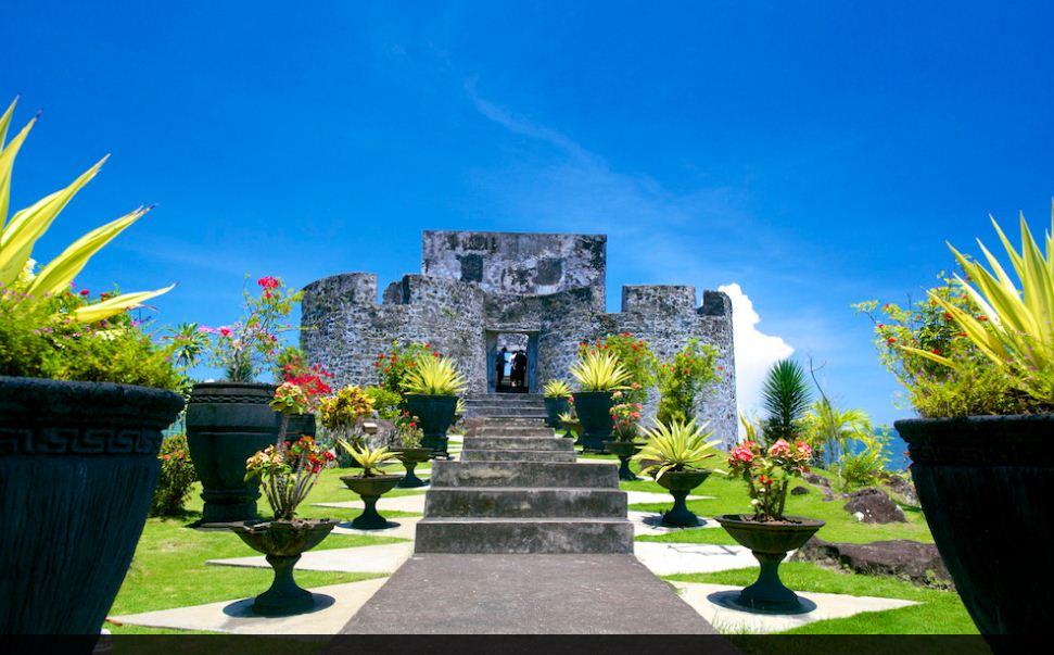 Benteng Tolukko Indonesia View Kota Ternate Kalamata Fortress