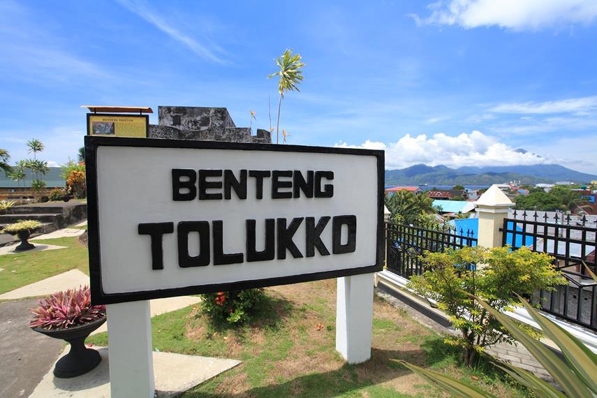 Benteng Tolukko Kisah Sejarah Indah Baliknya Papan Nama Kota Ternate
