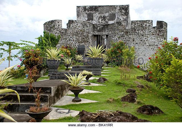 Benteng Tolukko Stock Photos Images Alamy Kota Ternate Image
