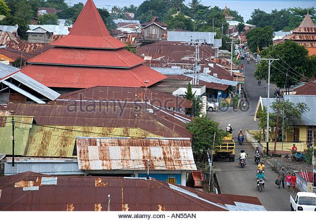 Benteng Tolukko Stock Photos Images Alamy Town View Kota Ternate
