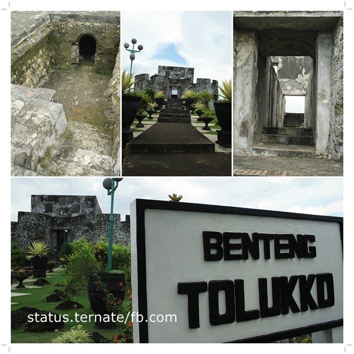 Legu Gam Moloku Kie Raha Peninggalan Benteng Bersejarah Kota Ternate