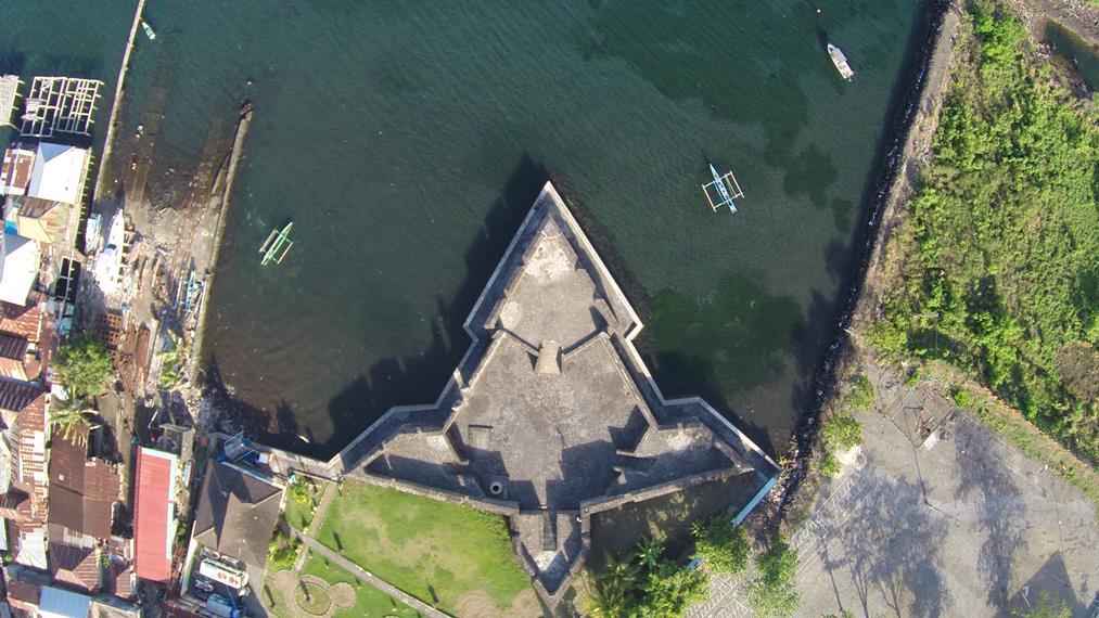 Nilai Artistik Sejarah Menarik Benteng Kalamata Indonesiakaya Tampilan Udara Menyerupai