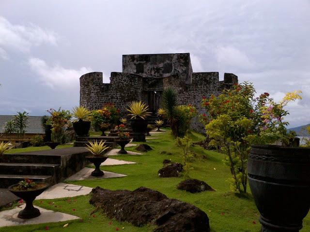 Sejarah Ternate Benteng Tolukko Kota