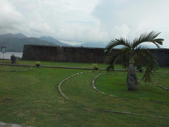 Tampak Depan Benteng Kalamata Picture Fort Ternate Tolukko Kota