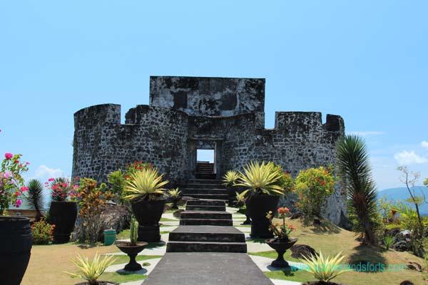 Tolukko Fort Ternate North Maluku Tourism Benteng Kota