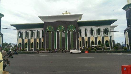 Bagian Depan Masjid Sultan Ternate Picture Al Munawwaroh Great Mosque