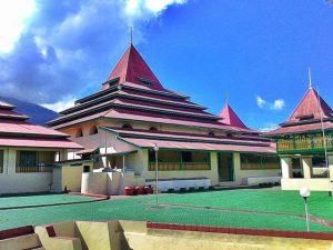 Masjid Sultan Ternate Maluku Utara Perkiraan Dibangun Awal Abad 17