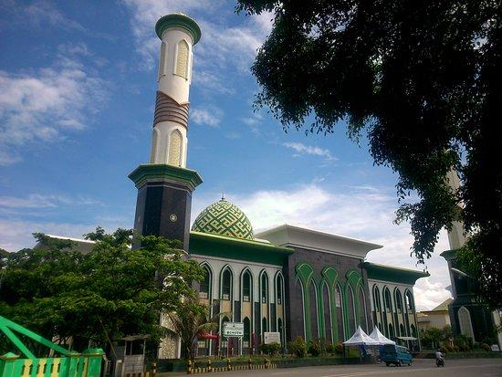 Masjid Sultan Ternate Tampak Laut Picture Al Munawwaroh Great Mosque
