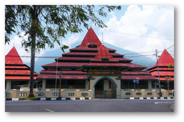 Sejarah Ekonomi Wisata Budaya Kedaton Sultan Ternate Mahkota Masjid Terletak