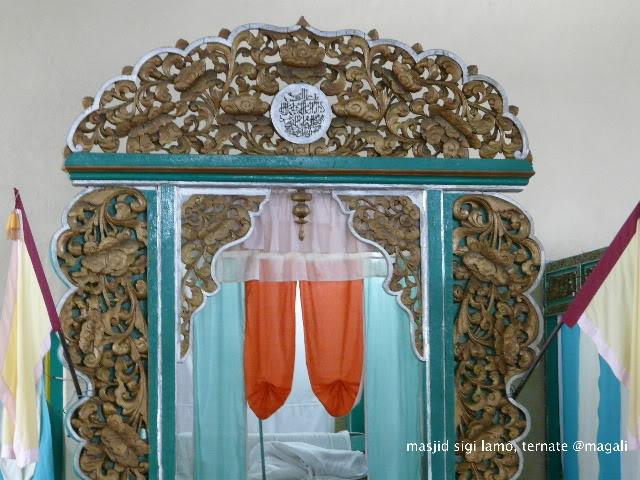 Sultan Ternate Mosque North Maluku Airport Seaport Tourists Advantage Public
