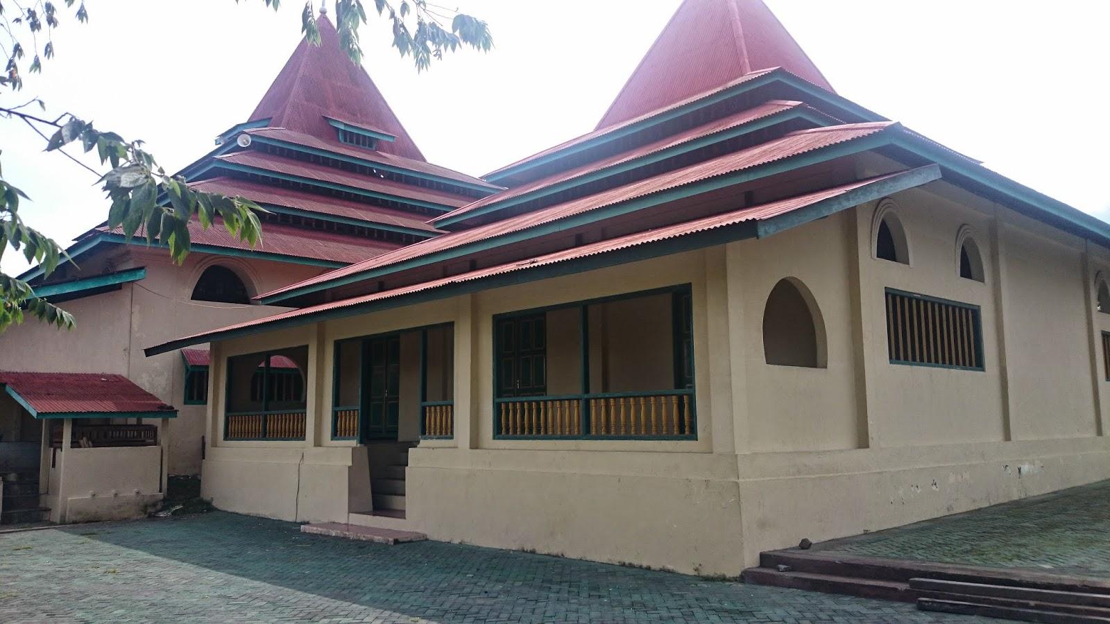 Takjub Indonesia Masjid Sultan Ternate Maluku Utara Kesultanan Memiliki Keunikan