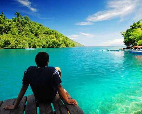 7 Tempat Wisata Menarik Ternate Pulau Maitara Tidore Pantai Sulamadaha
