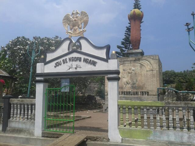 Arfive Gandhi Ekspedisi Ternate Benteng Kastela Kota Janji Pantai
