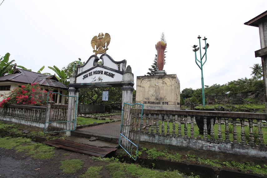 Benteng Kastela Saksi Perjuangan Rakyat Maluku Melawan Pantai Kota Ternate