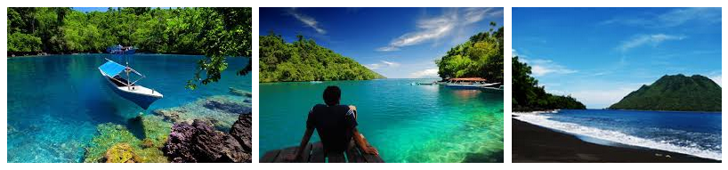 Indonesia Tourism 14 Places Visit Ternate North Lake Laguna Pantai