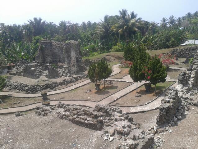 Kastela Fortress Ternate Tragedy Huge Evacuation Portuguese Moved Tidore Goa