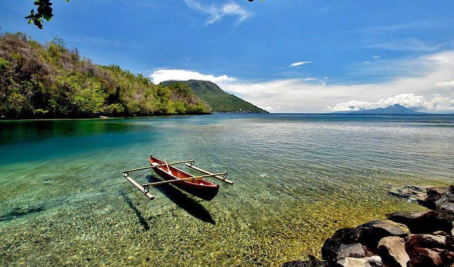 Ternate Tidore Negeri Tujuan Penjelajah Pantai Sulamadaha Kastela Kota