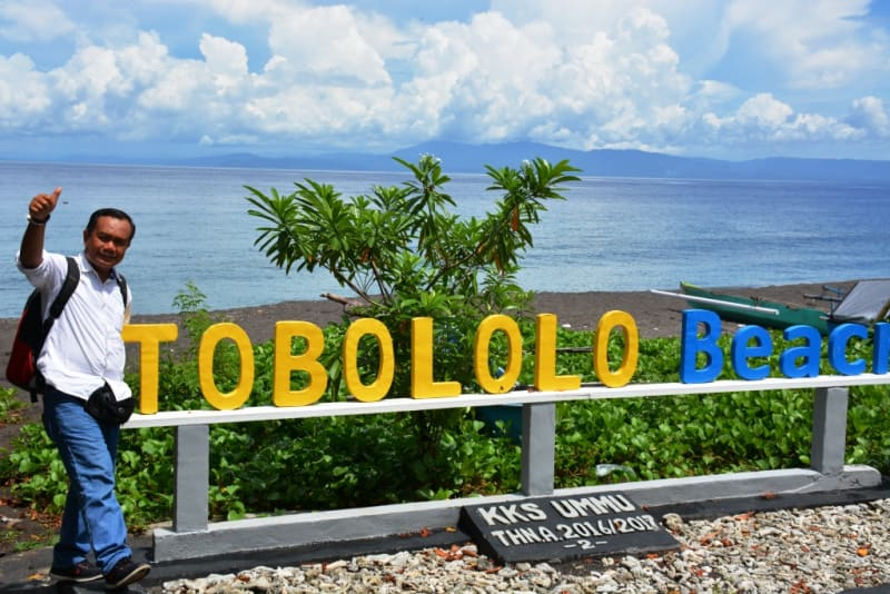 Tobololo Alternatif Wisata Pantai Utara Kota Ternate Kumparan Warga Menyadari