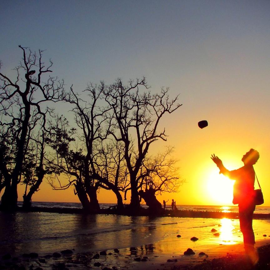 Travel Indonesia Salah Satu Tempat Kota Ternate Pantai Kastela Degan