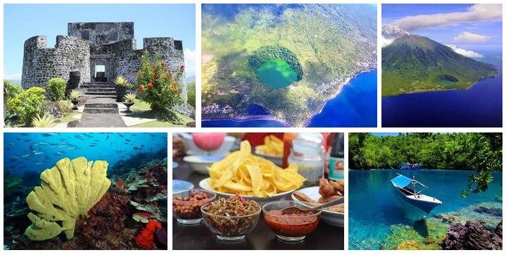 Wisata Indonesia 14 Tempat Kota Ternate Wajib Dikunjungi Provinsi Maluku