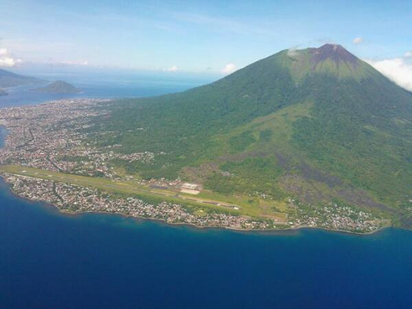 14 Top Ternate Indonesia Beautiful Mount Gamalama Cone Stratovolcano Mountain