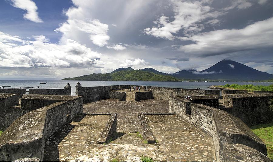 Kalamata Fortress Ternate Island Kota