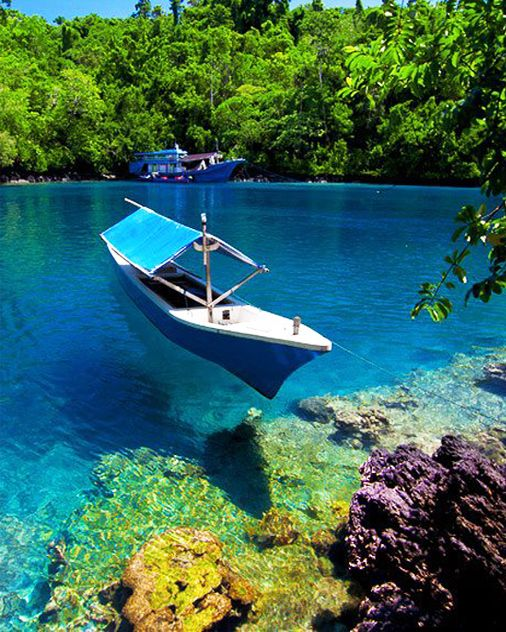 Sulamadaha Crystal Clear Beach Ternate North Maluku Indonesia Island Kota