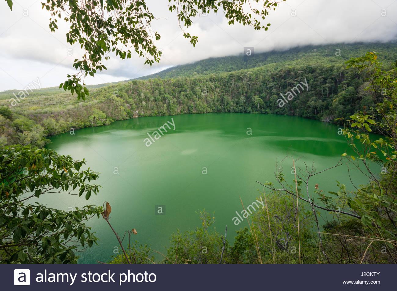Ternate Island Indonesia Stock Photos Maluku Utara Kota Green Lake