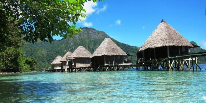 Ternate Small Town Island Kota