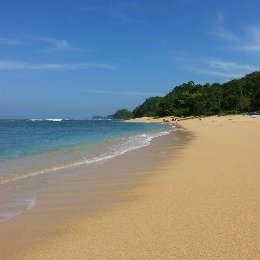 10 Gambar Pantai Pasir Panjang Malang Rute Harga Tiket Masuk