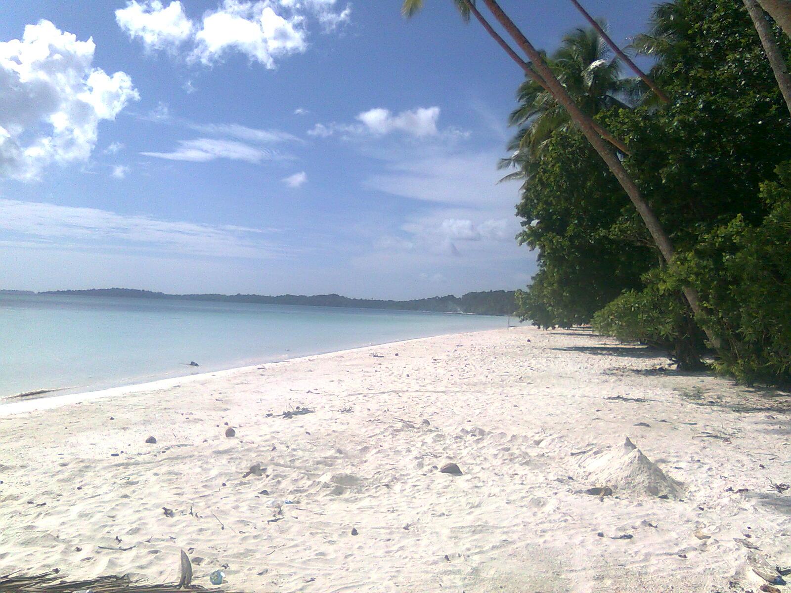 Alfin Hiber Zone Pantai Pasir Panjang Ngurbloat Tual Maluku Tenggara
