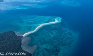 Fenomena Alam Membelah Laut Pasir Panjang Tual Maluku Tarif Menuju