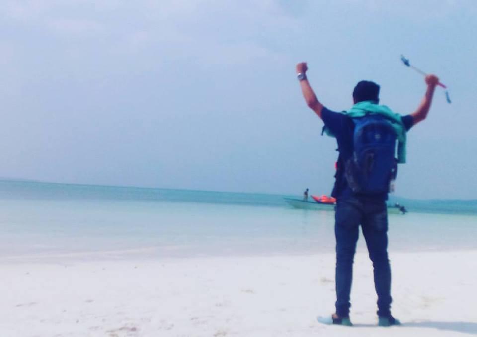 Hasil Jepretan Andi Faisal Wadjo Keindahan Pulau Bair Kepulauan Pasir