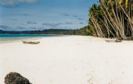 Namarappuccino Pantai Ngurbloat Pasir Putih Halus Dunia Lebih Dikenal Oleh