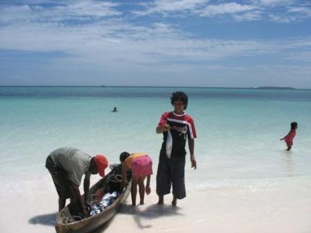 Namarappuccino Pantai Ngurbloat Terletak Pesisir Barat Pulau Kei Kecil Berjarak