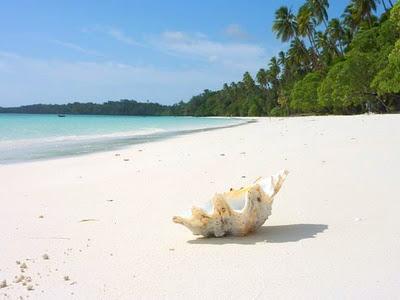 Ngurbloat Pantai Pasir Panjang Tual Maluku Tenggara Eddy Merasakan Lembutnya