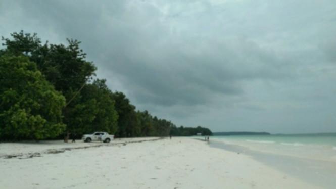 Pantai Ngurbloat Maluku Pasirnya Halus Tepung Viva Image Title Pasir