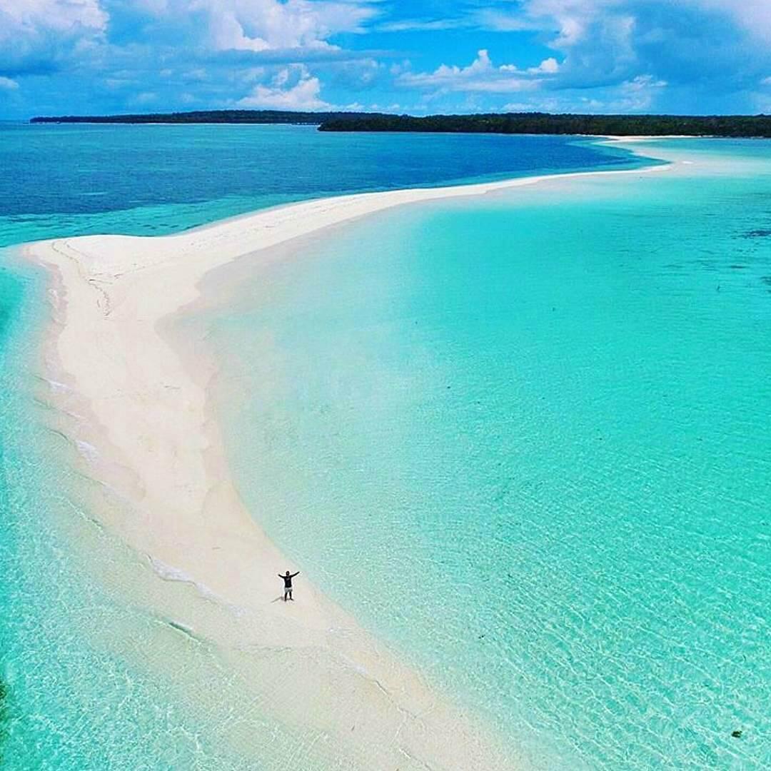 Pantai Ngurtafur Terindah Maluku Tenggara Backpacker Foto Ilhamarch Pasir Panjang