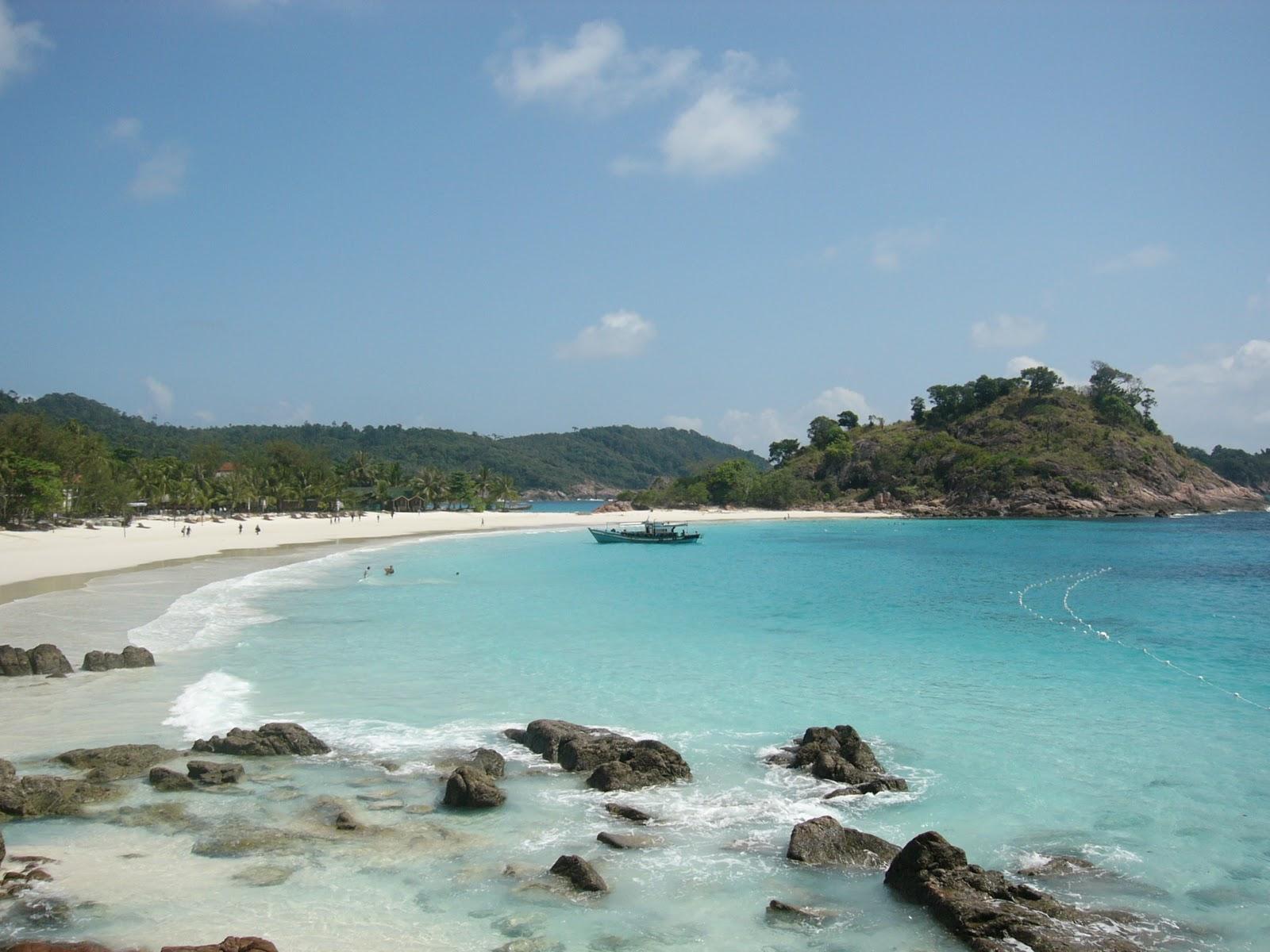 Pantai Pasir Panjang Singkawang Bumi Nusantara Terletak Kecamatan Tujuh Belas