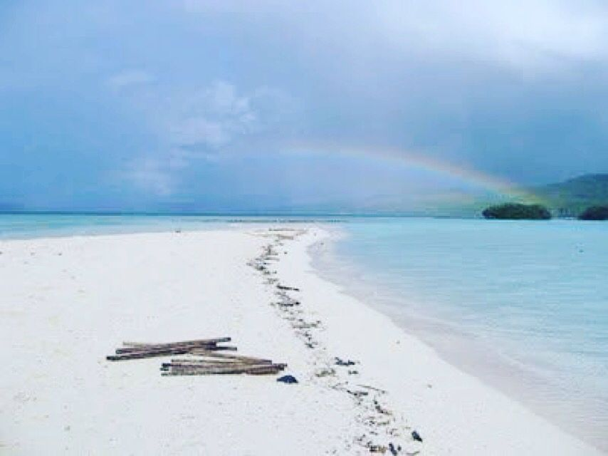 Pantai Pasir Panjang Tual Maluku Tenggara Indonesia Pacific Kota