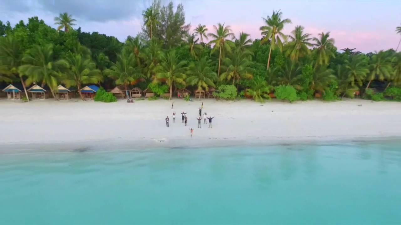 Pasir Panjang Kota Tual Youtube Pantai