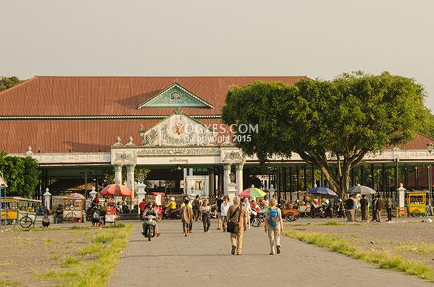 Alun Utara 5 Tempat Terbaik Menikmati Senja Tengah Kidul Yogyakarta